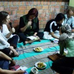 Diskusi Fiber Face : Sujud Dartanto, Nia Fliam, Joanna Barrkman, DS Priyadi, Anusapati