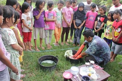 Workshop anak anak tingkat sekolah dasar